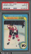 1979 O-Pee-Chee OPC Hockey #178 Andre Dupont Philadelphia Flyers PSA 10 GEM MINT