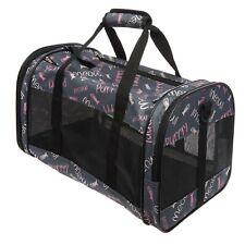 """Whisker City """"MEOW"""" Soft Sided Travel Carrier Cat Kitten Carrier Case"""