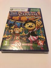 🤩 xbox 360 neuf blister officiel pal fr carnival bouge ton corps kinect 20 jeux