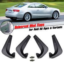 moulded Mudflaps For Audi A1 A2 A3 A4 A5 A6 Mud Flaps Splash Guards Mudguards