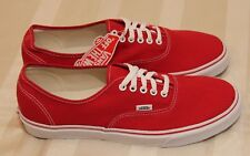 55b9359f94 Vans Authentic  Red  New (Size US11.5) max Skate Dress air