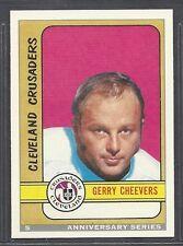 1992-93 O-Pee-Chee Anniversary Series - #5 - Gerry Cheevers - Crusaders