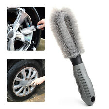 Tyre Wheel Wash Scrub Brush Tire Rim Cleaning Tool Car Auto Vehicle Motorcycle