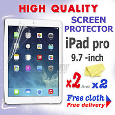 2 new High Quality Screen protective protection film foil for apple iPad Pro 9.7