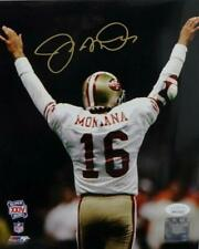 Joe Montana Signed San Francisco 49ers 8x10 PF Photo SB Arms Raised- JSA W Auth