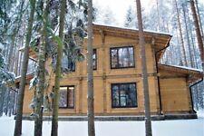 2 390 Sqft Prefab Heavy Timber Frame Kit Wood House Diy Building Cabin Home Glt