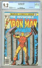 Iron Man #100 CGC 9.2 OWT White Pages (1977) 2078812004