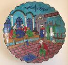 Original Persian Turkish Ceramic Handpainted Miniature Kutahya Charger PAINTING
