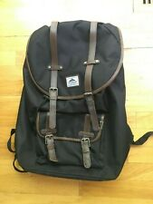 Steve Madden Black Large backpack Faux Leather Straps.* Awesome Very Nice*