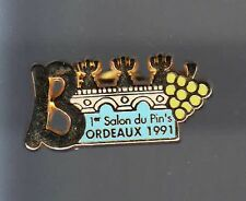 RARE PINS PIN'S .. SALON SHOW EXPO FABRICANT BORDEAUX VIN WINE 33  N°2 ~BA