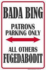the Bada Bing night club / 8x12 metal sign / Sopranos