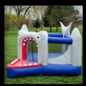 NEW Bazoongi Kids BH-SHK, Shark Bounce House