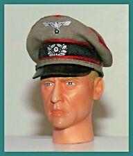 Banjoman 1//6 scale personnalisées allemand WW1 officer/'s Visière Cap