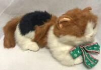 "The Gingham dog & Calico Cat Plush Kitten Kitty 17"" length Stuffed Animal Toy"