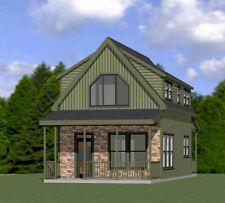 18x30 House -- PDF Floor Plan -- 999 sq ft -- Model 11E