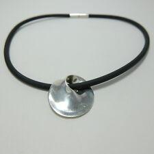 Georg Jensen Rubber Necklace #374 Sterling Silver 925 Torun