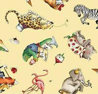 Hungry Animal Alphabet Toss YELLOW J. Wecker-Frisch Digital  C10182-YELLOW