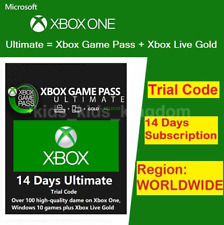 XBOX LIVE 14 Day GOLD + Game Pass (Ultimate) Trial Code FAST DISPATCH