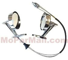 Remote Control Mirror Set for 1958-59 Plymouth - Dodge - DeSoto - Chrysler - Imp