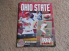 2004 Ohio State Baseball Program Big Ten Josh Newman Scott Lewis Drew Anderson