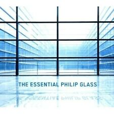 "PHILIP GLASS ""THE ESSENTIAL PHILIP GLASS"" 3 CD NEU"