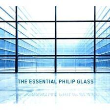 "PHILIP GLASS ""THE ESSENTIAL PHILIP GLASS"" 3 CD NEU"