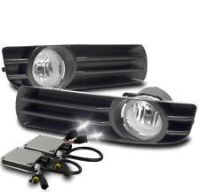2005-2007 CHRYSLER 300 CHROME LOWER BUMPER DRIVING FOG LIGHTS W/6K XENON HID SET