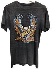 New listing Vtg 80S Harley Davidson t shirt Mens M/L fit Distressed 3D