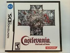 Castlevania Portrait of Ruin - Nintendo DS - Replacement Case - No Game
