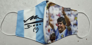Diego Maradona face mask- cotton