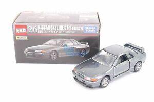 Takara Tomy Tomica Premium No. 26 Nissan Skyline GT-R Type Diecast Toy Car Kid