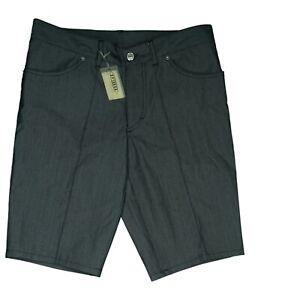 Drykorn Herren Jeans Hose kurze Short Sommer Bermuda Gr. 46 M W32 Grau Glanz NEU