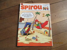 JOURNAL BD SPIROU 3996 novembre 2014 + supplement abonne craquelures 1 bazile