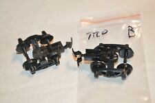 Ho scale Parts freight car trucks plastic Tyco Bettendorf Talgo snap/clip mount