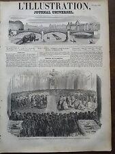 L'ILLUSTRATION 1851 N 425 LA SEMAINE SAINTE EN ESPAGNELE, LE LAVEMENT DES PIEDS