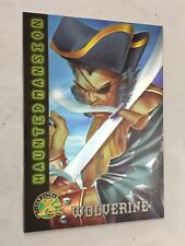 X-MEN FLEER ULTRA card nr 99  WOLVERINE  HAUNTED MANSION MARVEL