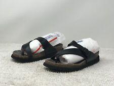 Mephisto Helen Womens Black Leather Sandals EUR 40 US 810 (b18)