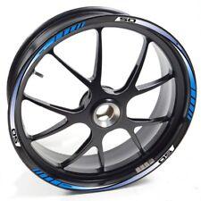 FRFR Liseret jantes Derbi Senda DRD Xtreme 50 Bleu autocollant jante roue vinyle