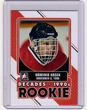 DOMINIK HASEK 13/14 ITG Decades 1990s Rookie #DR-07 SP Insert Card Blackhawks