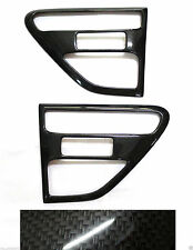 CARBON KEVLAR COVER SIDE VENT TRIM LH RH FOR FORD RANGER T6 PX 2012-2015 TRUCK