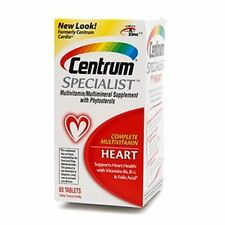 Centrum Specialist Heart Tabs 60 ea (Pack of 9)