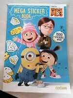 Despicable Me 3 Mega Sticker Book