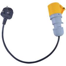 13 amp à 16 Amp 110 V Socket Connecteur PAT test Adaptateur 16 A jaune Adaptateur