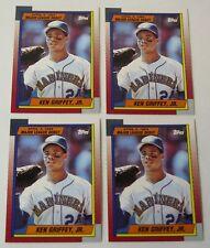 1990 Topps Debut 1989 Ken Griffey Jr. # 46 Lot of 4