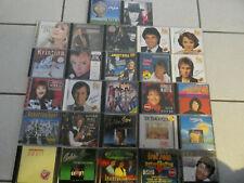 CD-Sammlung Alben Deutsche Schlager nur Interpreten 27 CD