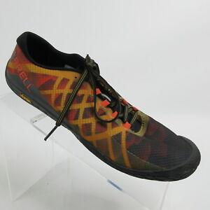 Merrell Vapor Glove 3 Barefoot Trail Running Shoes Orange J77659 Mens Size 8.5