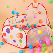 Kids Children Outdoor Indoor Game Play Toy Tent Ocean Ball Pit Pool Gift