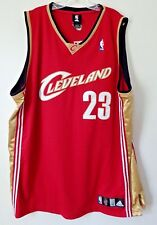 LeBron James jersey #23 Cleveland Cavaliers Basketball Jersey size 52