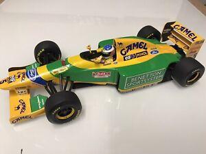 1/18 Minichamps Benetton B193 Michael Schumacher Brazilian G.P.