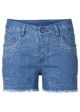 Kurze Damen-Shorts aus Denim